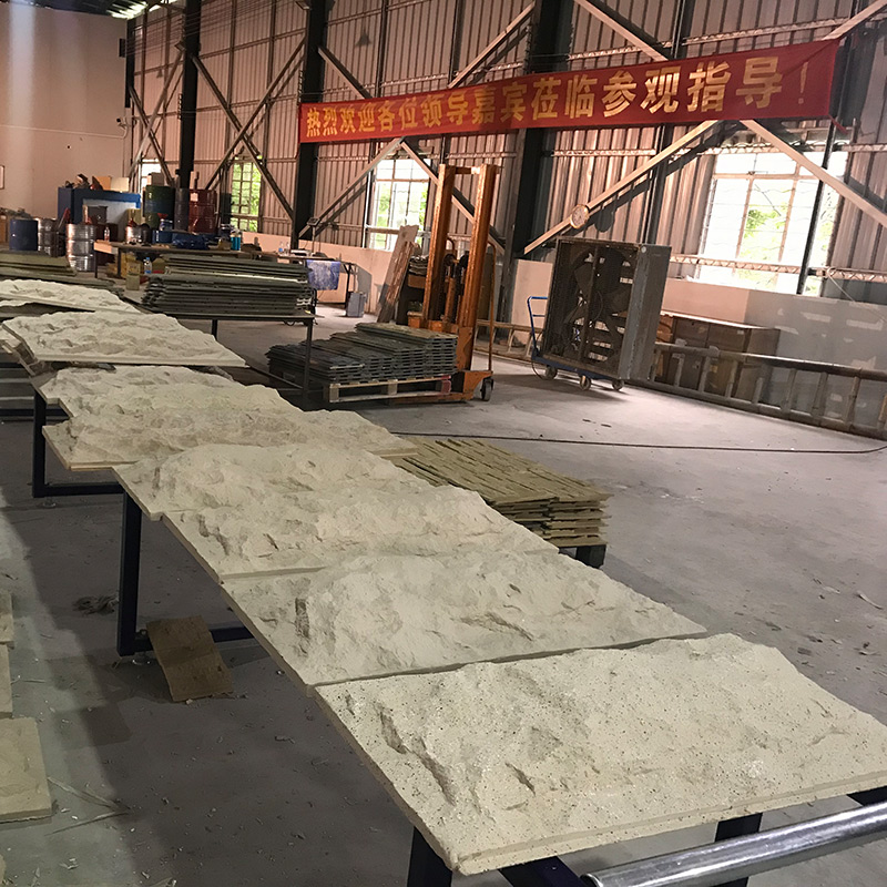ChuangChengYi zero maintenance 4x8 faux rock panels bulk production for amusepark-17