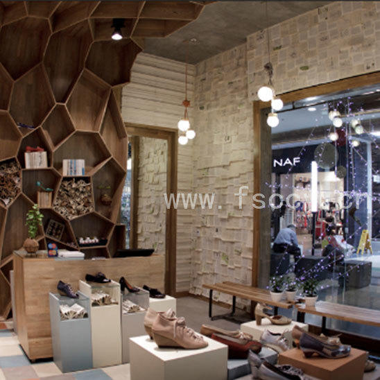 ChuangChengYi Brand interior material crystal faux rock panels
